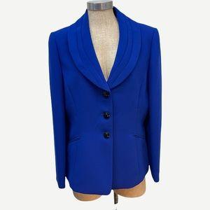 TAHARI Arthur S Levine Blue Blazer Jacket 12